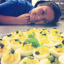 Grace Danaher, Catering Chef at Sugarsnap
