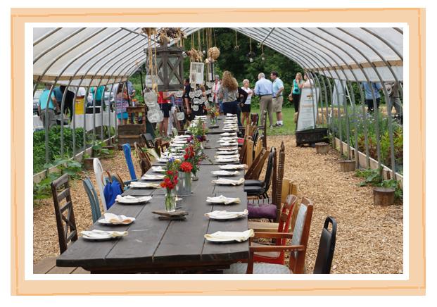 Private event at the Sugar Snap Farm