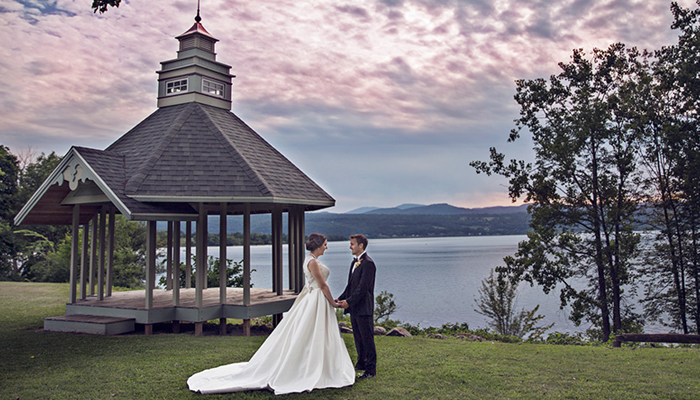 Wedding at An Affair By the Lake