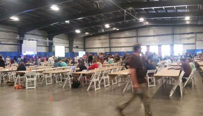 Event at the Champlain Valley Expo