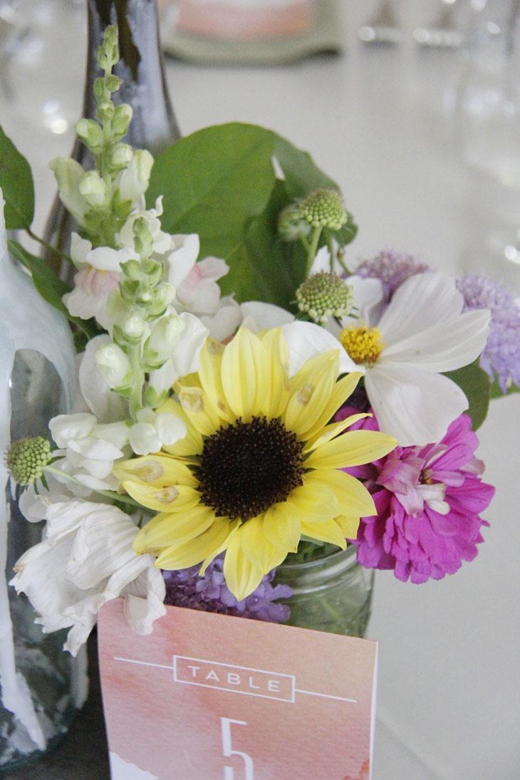 Locally Sourced Wedding Florals