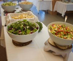 Lunch Break at the UVM Alumni House