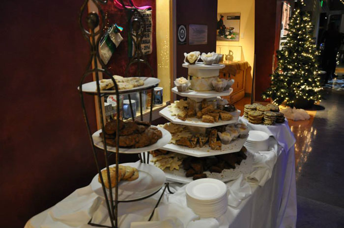 Buffet at Holiday Event