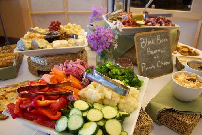 ECHO's Catering Partner Buffet at Wedding