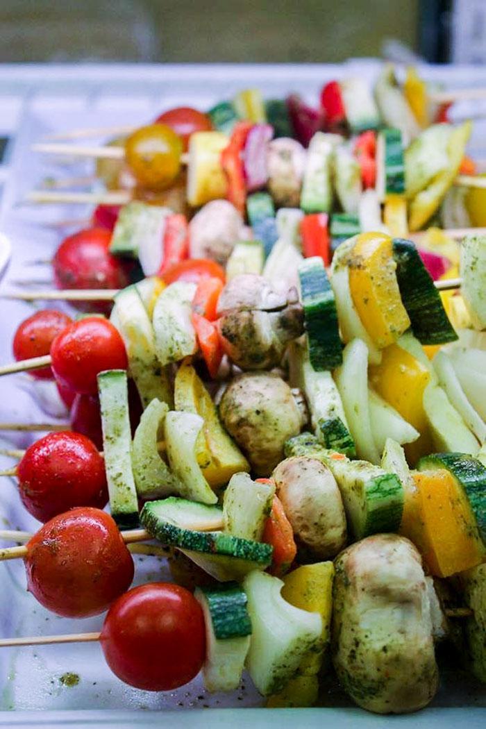 Vegetarian Kebobs